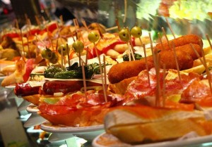 A taste of the Spanish cuisine