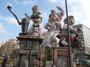 The fiery Las Fallas Festival